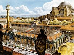 Shared History Of Constantinople (Istanbul) And Rome