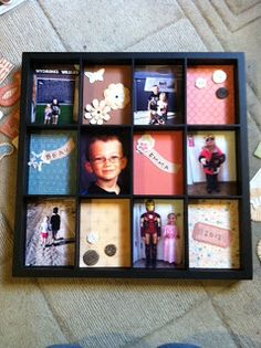 CTMH's Display Tray- made for my mom for Christmas this year- super fast and cute! Photo Frame Prop, Close To My Heart, Trays, Printer, Scrap, Display, Mom, Cute, Christmas