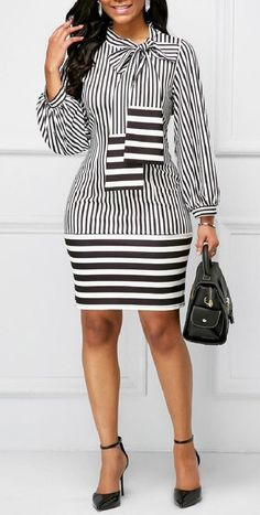 Style Spacez: 14 Super Cheap Dress for Work You Must Check - Outfits for Work Cheap Dresses, Cute Dresses, Casual Dresses, Dresses For Work, Mode Outfits, Chic Outfits, Fashion Outfits, Womens Fashion, Fashion Clothes