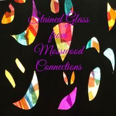Stained Glass Craft Project for Kids This simple cooperative stained glass art activity is fun for both parent and child and the results are beautiful.