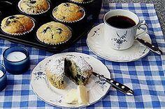 Grandma's Blaubeermuffins (Rezept mit Bild) von demelzea   Chefkoch.de