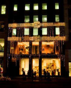 Fendi, Christmas on Fifth Avenue, NYC