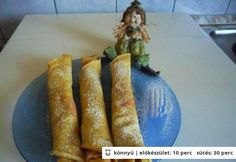 Kukoricalisztes palacsinta Paleo, Keto, French Toast, Food And Drink, Pizza, Bread, Vegetables, Breakfast, Desserts