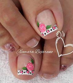 Blue Nails, My Nails, Toe Nail Designs, Manicure And Pedicure, Nailart, Beauty, Nice Nails, Nail Arts, Pretty Nails