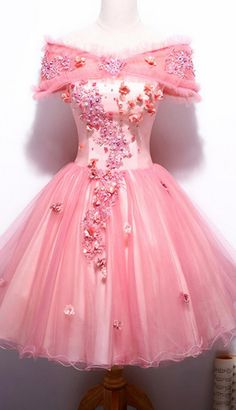 Off Shoulder Homecoming Dresses,Short Homecoming Dress, Cute Homecoming Homecoming Dress PromDresses CocktailDresses Cute Wedding Dress, Beautiful Prom Dresses, Pretty Dresses, Mode Outfits, Girly Outfits, Party Gown Dress, Ball Gowns Evening, Quince Dresses, Dresses Short