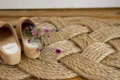 DIY: Rope Doormat by Erin Boyle | Gardenista