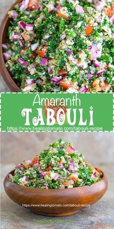 Vegan tabouli salad