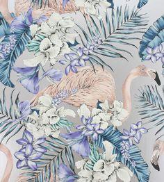 Design Classics | Metallics | Flamingo Club Wallpaper by Matthew Williamson | Jane Clayton