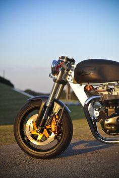 Bucephalus Triumph Custom Motorcycle 7 740x1110 Bucephalus by Loaded Gun Customs