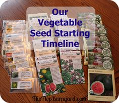 I've been doing a lot of thinking about this year's garden. I ordered all heirloom/organic seeds and they arrived in the mail this week. I plan to save.....