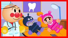 #Anpanman Toys Anime Episode 46: Baikinman Teeth Decay and Anpanman Ambu...