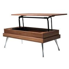 Table basse plateau relevable irma tables - Table basse plateau pivotant ...