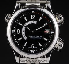 Jaeger LeCoultre S/S Master Compressor Memovox 146.8.97  http://www.watchcentre.com/product/jaeger-lecoultre-s-s-master-compressor-memovox-146.8.97/3617