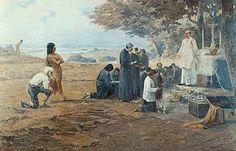 Fundação da cidade de São Paulo, 1913 Antônio Parreiras (Brasil, 1860-1937) óleo sobre tela, 179 x 200cm PESP: Pinacoteca do Estado...