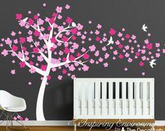 cherry blossom tree decal – Etsy CA