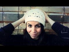Gorro de Abanicos a Crochet NUEVA VERSIÓN (w/english subtitles!) - YouTube