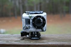 GoPro camera skin winter camo
