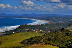 A view of the Mosselbay area, South Africa.