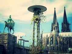 Hohenzollernbrücke vs. Kölner Dom #Köln #Cologne #Städtereise