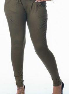 Olive Green Harem Legging Pants #harempants #leggings #ustrendy