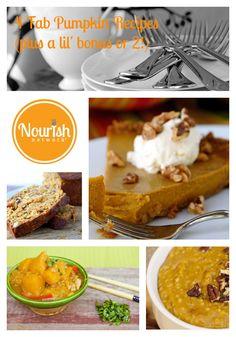 Pick a Pack of 7 Pumpkin Recipes