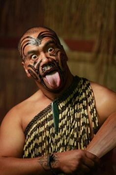 A haka (plural is the same as singular: haka) is a traditional ancestral war cry, dance or challenge from the Māori people of New Zealand.