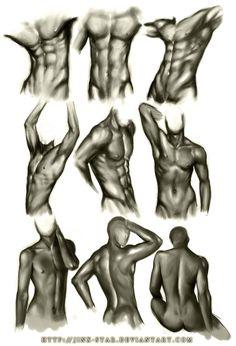 MALE BODY STUDY by jinx-star on Deviant Art http://jinx-star.deviantart.com/art/MALE-BODY-STUDY-III-191503708?q=favby%3Aheilyaens%2F41145385=36
