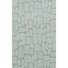 MissPrint Aquamarine Little Trees Wallpaper - MISP1045 - MissPrint from eggcup & blanket UK