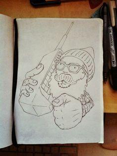 Let's get vintage! #doodles #drawing #juancarlosgraciano
