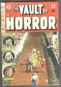 Vault of Horror #33  EC Comics 1950's1st print & series