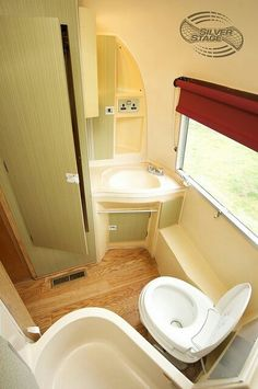 Airstream bathroom