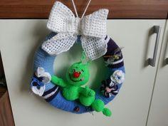 Crochet Tür Kranz www.facebook.com/ HakelnStrickenAmigurumis