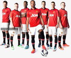 Manchester United 2013/14 Nike Home Kit