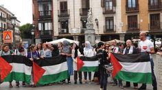 Mujeres rumbo Gaza en Madrid