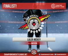 #LuleaHockey is the second team to advance to the #CHL final!