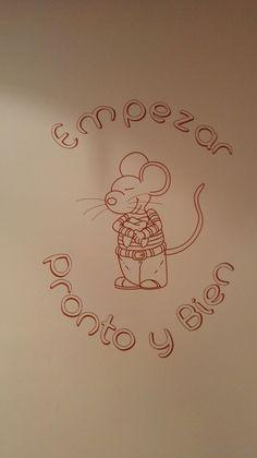 Vinilo ratoncito Pérez äbubbä