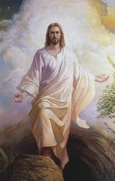 Images Du Christ, Pictures Of Jesus Christ, Jesus Art, Jesus Is Lord, La Résurrection Du Christ, Image Jesus, Padre Celestial, Jesus Christus, Son Of God