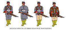 Guerra Civil 1891: Balmacedista durante la Guerra Civil