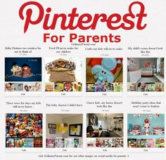 Pinterest for Parents. What your boards should be called.