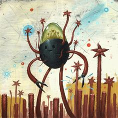 Jeff Soto - the Harvester.  My other favorite.  Also out of print.