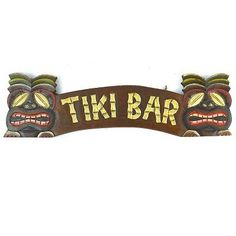 Discover the best tiki bar ideas for your coastal home. Tiki bars are really popular and we listed tiki bar decorations and design ideas for your backyard, DIY projects, and more. Car Part Furniture, Room Furniture Design, Automotive Furniture, Automotive Decor, Tiki Bar Stools, Wicker Bar Stools, Tiki Bar Signs, Tiki Bar Decor, Hawaiian Decor