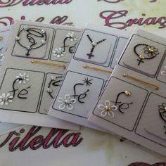 Linha impressa com jóias Criações Vilella