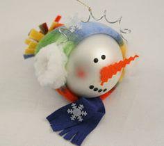 Earmuff Snowman