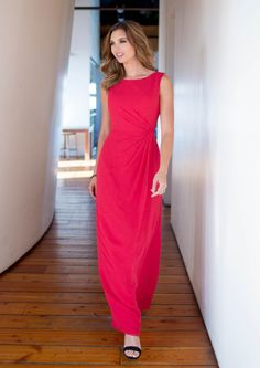 US$118.99 Wholesale 2015 A-line Red Chiffon Floor Length Bridesmaid Dress colour kenneth winston 5184 from - US.homecomingnightgirl.com