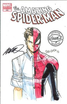 Amazing Spider-Man #648 by Humberto Ramos and Edgar Delgado *