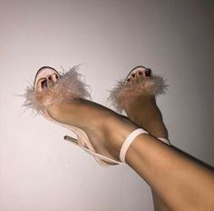 Faux Fur Cover Straps Open Toe Women Concise Sandals Thin Ankle Buckle High Heels Ladies Sexy Party Shoes Dress Shoes Wholesale Source by dress Pumps, High Heels Stilettos, Stiletto Heels, Shoes Heels, Fur Heels, Rothys Shoes, Sandal Heels, Pink Heels, Fall Shoes