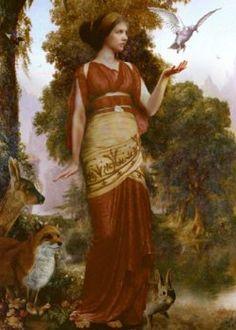 Persephone (Grieks: Περσεφόνεια, Persephoneia, Latijn: Proserpina) is in de Griekse mythologie de godin van het dodenrijk. Ze was de dochter van Demeter, de godin van de landbouw en het graan, en de oppergod Zeus. De Romeinse varianten van Demeter en Zeus zijn Ceres en Jupiter.
