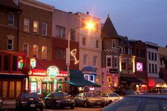 Night life...International Epicurian Delights....Smorgasboard of Fun..Adams Morgan in DC