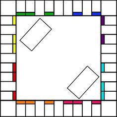 Blank Monopoly Baord by DracosDerpyHoof