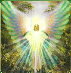 Archangel Raphael who ministers health conditions of living beings. Archangel Raphael even guides you in your dreams. Archangel Raphael turns out to be your Angel Protector, Oracle Reading, San Rafael, I Believe In Angels, Angel Pictures, Angels Among Us, Angel Cards, Guardian Angels, Oracle Cards